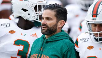 Miami Coach Manny Diaz Announces He's Tested Positive For COVID-19, Is 'Feeling Good Overall'