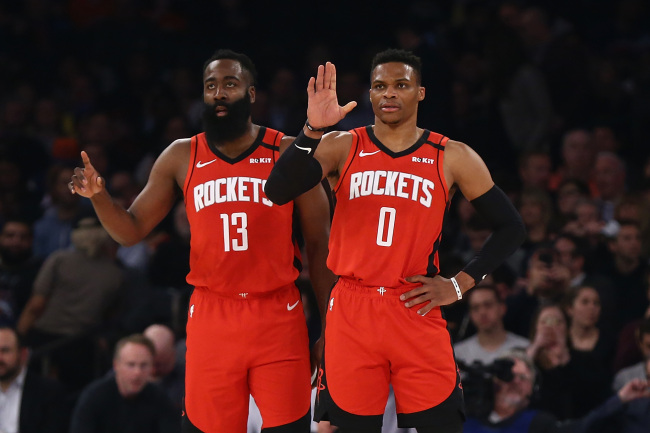 NBA fans blast Russell Westbrook's reason for requesting trade from Rockets