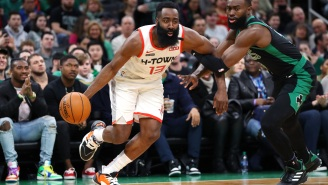 The Boston Celtics Were Reportedly Interested In Trading For James Harden But Were Advised To 'Keep Away'