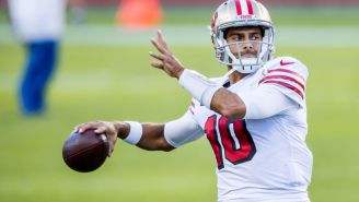 ESPN Analyst Suggest Patriots Would Be 'Most Logical Suitors' If 49ers Want To Move On From Jimmy Garoppolo