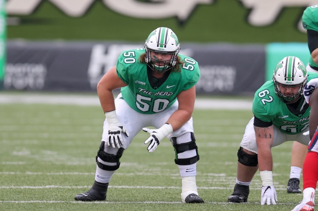 Marshall Football Offensive Line Will Ulmer