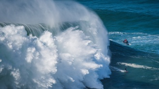 The Most Brutal Wipeouts From Nazare's Hurricane Swell Which Saw Some Of The Biggest Waves In Surfing History