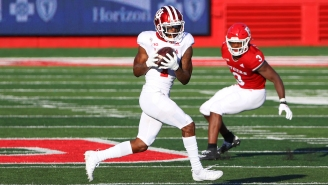 Indiana Wide Receiver 'Whop' Philyor's Nickname Is Because Of His Love For Fast Food