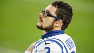 Colts Kicker Rodrigo Blankenship Was 'Being A Nerd' The Night Before Winning The Team's Starting Job