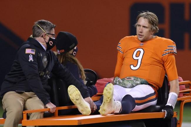 Nick Foles Injury Bears Cart