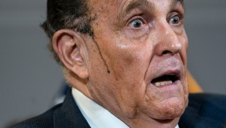 Rudy Giuliani's Hershey Sideburn Syrup Does NOT Taste Good On Ice Cream