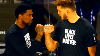 Meyers Leonard Explains Why He'd Choose Udonis Haslem Over Everyone As A Partner In A Street Fight
