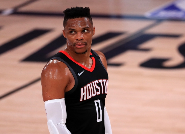 Houston Rockets Fans Blast Russell Westbrook For Reportedly Requesting Trade Because He's 'Not Happy With Rockets' Style Of Play On Offense'