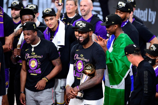 LeBron James Says The Lakers Will Go To The White House To Celebrate Championship After Donald Trump Loses Election