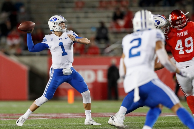 BYU Football Zach Wilson