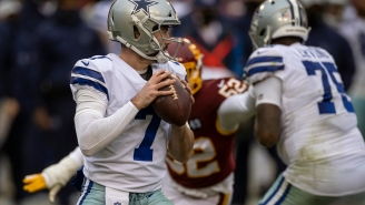 Cowboys Quarterback Ben DiNucci On His First Career NFL Start: 'This NFL Thing, It's Hard'