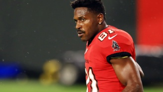 Antonio Brown Accused Of Angrily Destroying A Surveillance Camera And Throwing Bike At Security Guard Shack Two Weeks Before Signing With Tampa Bay
