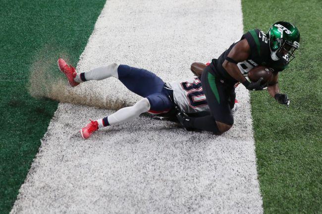 jamison crowder touchdown vs patriots