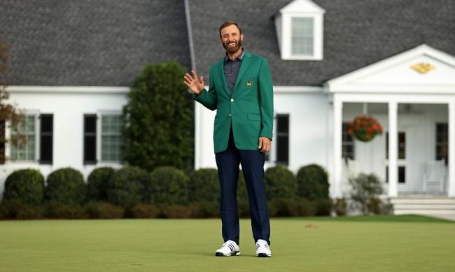 Dustin Johnson Green Jacket Masters