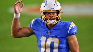 NFL Fans React To Chargers QB Justin Herbert Looking Nearly Unrecognizable After Getting A Haircut