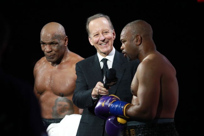 mike tyson roy jones jr ratings pay per view numbers