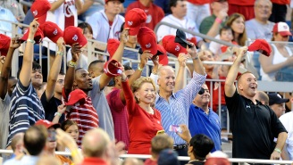 The Washington Nationals Have Invited President-Elect Joe Biden To Throw Out The First Pitch On Opening Day