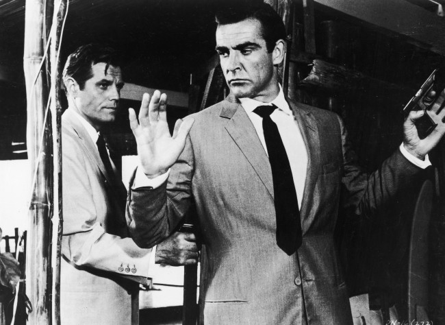 Sean Connery Dr. No James Bond Walther PP