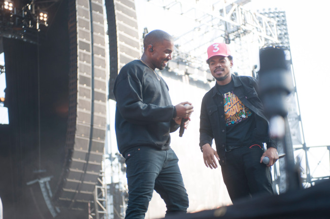 Chance The Rapper blasted for celebrating Biden's win after previous comments