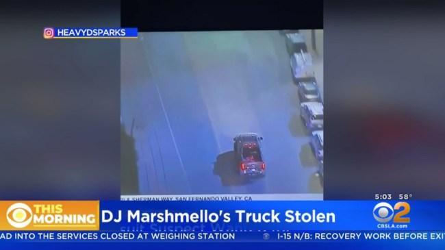 Guy Steals Marshmello 500K Custom 6×6 SEMA Truck Leads Police On Wild Chase