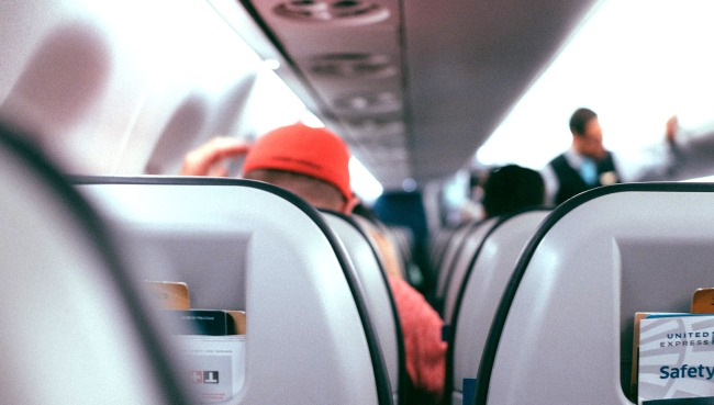 Here's Where You Should Sit On A Plane If You Must Fly Home For The Holidays