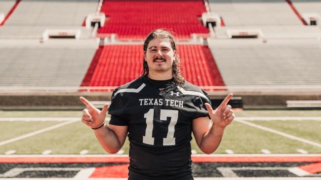 Colin Schooler Texas Tech Linebacker
