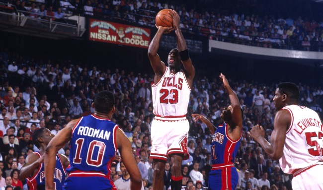 Isiah Thomas Claims He Didnt Consider Michael Jordan Competition