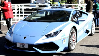 Italian State Police Use Lamborghini Huracan To Transport A Kidney 300 Miles In Two Hours