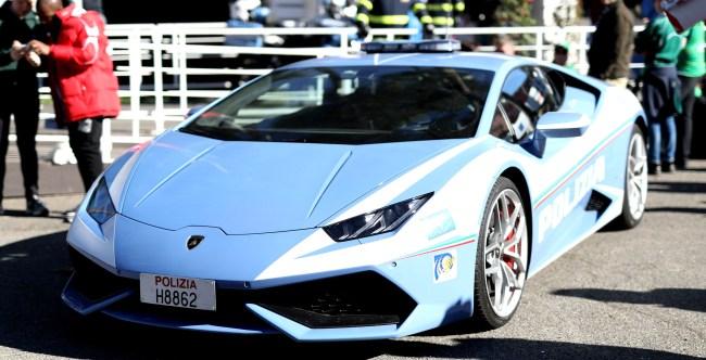 Italian Police Use Lamborghini To Transport Kidney 300 Miles In 2 Hours