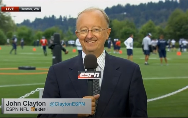 NFL Insider John Clayton Had An Extremely Unfortunate Accidental Tweet And Fans Had Some Hilarious Reactions