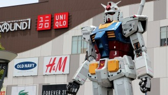 Japanese Scientists Have Figured Out How To Control Gundam Robots Using Just Their Minds