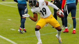 NFL Fines JuJu Smith-Schuster And James Conner $5K A Piece For Not Wearing Their Socks Correctly