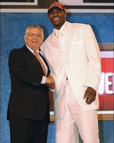 Lebron James NBA Draft