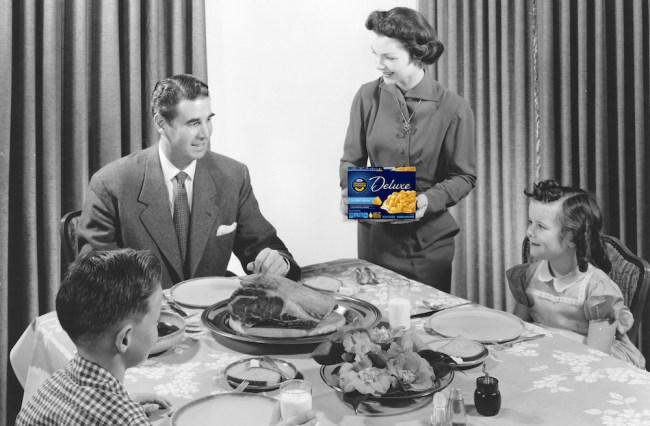 Macaroni and cheese thanksgiving