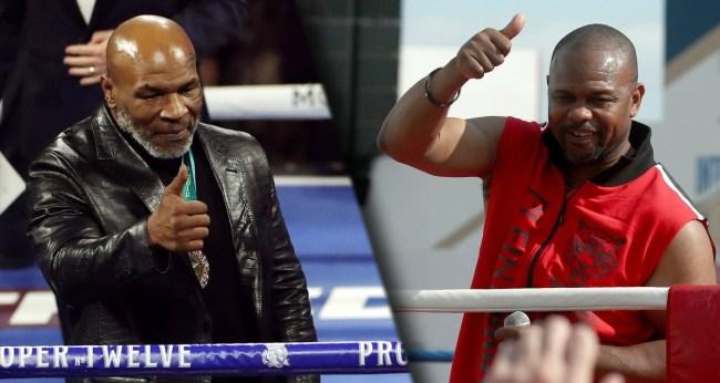 Mike Tyson-Roy Jones Jr Fight Wont Be Scored Will Not Have A Winner