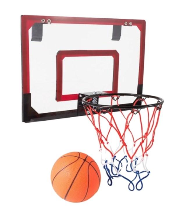 Mini Basketball Hoop with Ball and Breakaway Rim