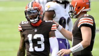 New Report Claims Odell Beckham Jr. Might Have Played Last Game With Cleveland, Never 'Fully Embraced' Team