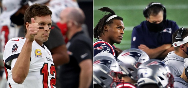 NFL Fans Mock Cam Newton And The Patriots With Tom Brady Memes After Team's Fourth Loss In A Row