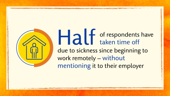 People Working From Home Taking Fewer Sick Days Working While Sick