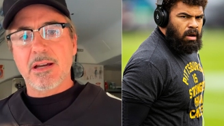 Steelers DT Cameron Heyward Sent Robert Downey Jr. A Game-Worn Jersey – Downey Says 'Thanks' By Sending Sick Gift Of His Own