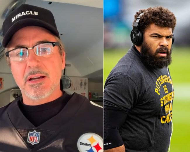 Robert Downey Jr. Steelers Gift