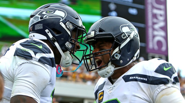 Russell Wilson Thanks DK Metcalf For Following Him Back On Twitter
