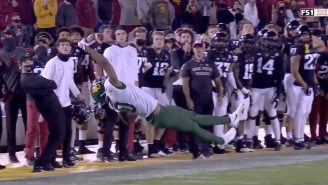 Did Baylor Wide Receiver R.J. Sneed Make The Catch Of The Year Against Iowa State?!