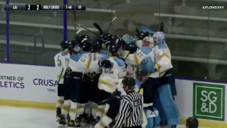 Founded Less Than A Year Ago, Long Island University Won Its Inaugural Division I Hockey Game In Overtime
