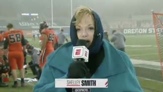 ESPN Reporter Shelley Smith's Niece Was Hit With A Chunk Of Ice At The Civil War In Oregon