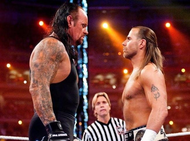 Shawn Michaels Undertaker Fight