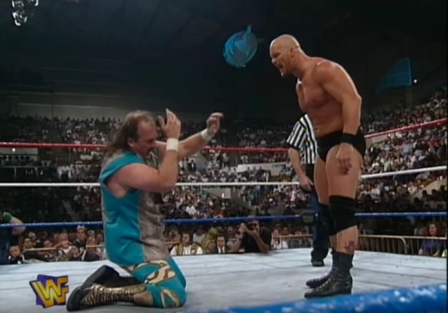 Stone Cold Jake Roberts King of the Ring