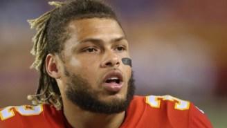 Chiefs' Tyrann Matheiu Deletes Tweets Cursing Out Random Fan Who Questioned Team's Play Vs Bucs