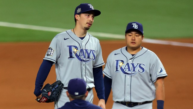 Tampa Bay Rays Manager Kevin Cash Says Hed Still Pull Blake Snell