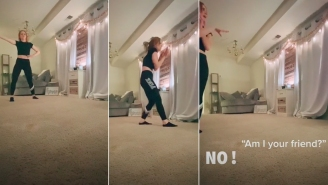 Stalker Caught Climbing Into Woman's Apartment While She's Dancing On TikTok